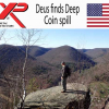 Only One Detector Could Hear This Coin Spill
