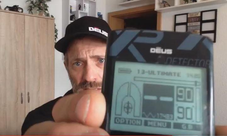 Lance with hs XP Deus - XP Deus unboxing