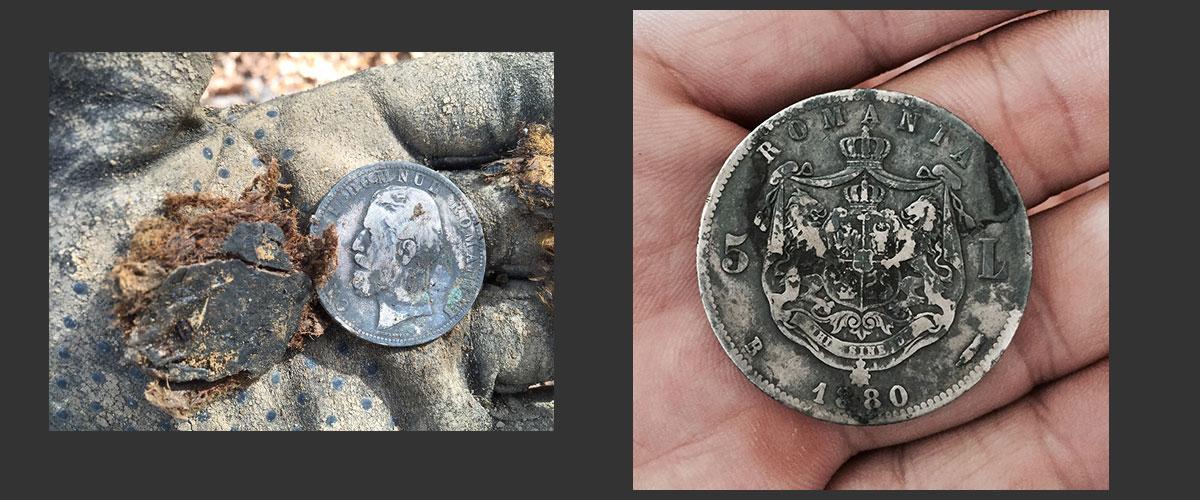 Romanian-coin