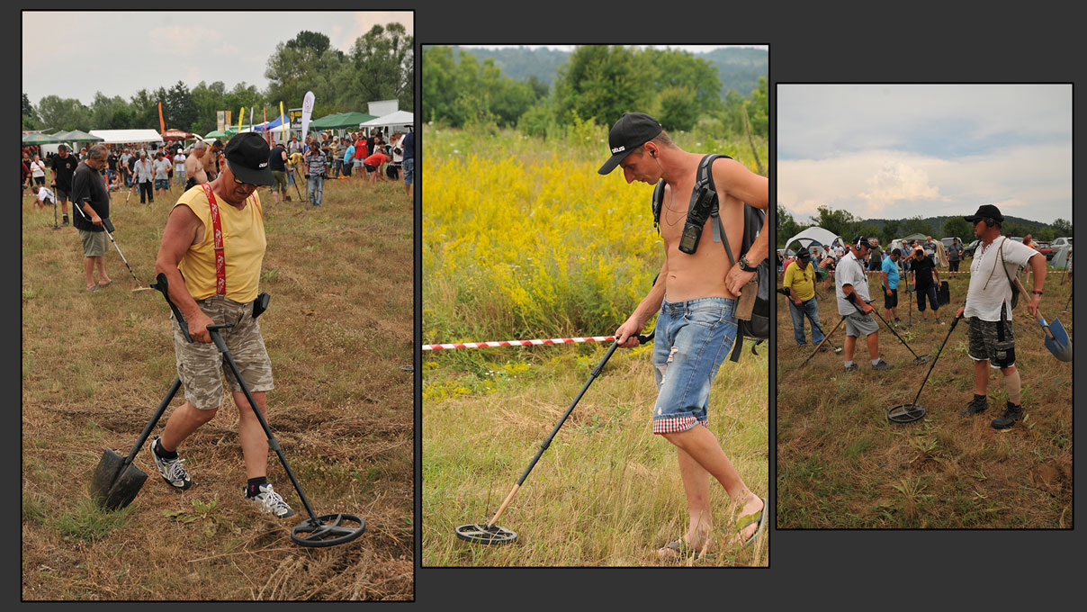 Bulgarians-metal-detecting-with-an-XP-Deus