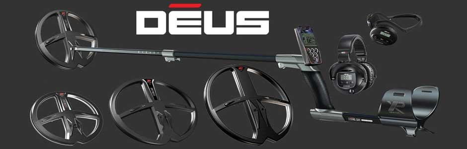 XP Deus full metal detecting kit