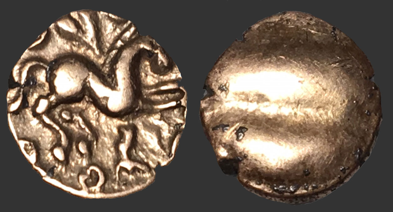 Celtic Gold coin found with an XP Deus metal detector - Very rare find of a lifetime