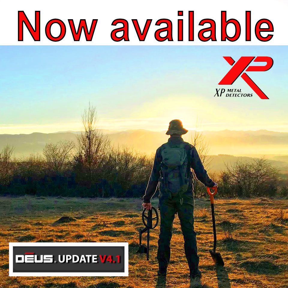 XP Deus version 4 1 new update procedure - XP Detectors