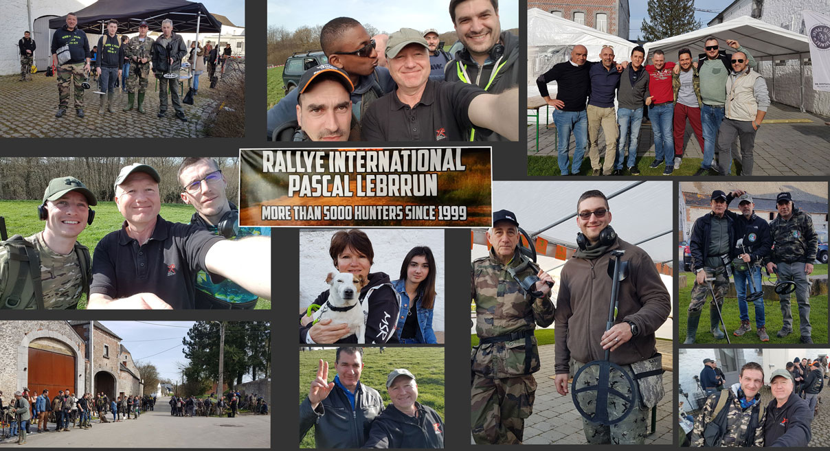 Meet fellow metal detector users from all over the world at an international metal detecting event.