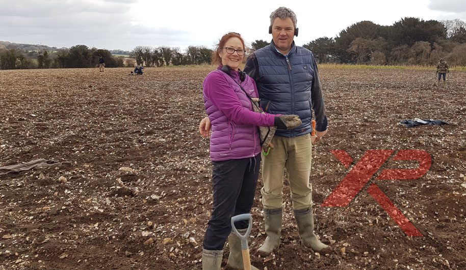 Sue finds ancient treasure from the Bronze age